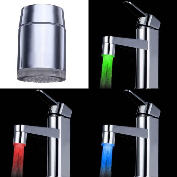 led kraanverlichting hierdoor krijgt het water uit je kraan kleur